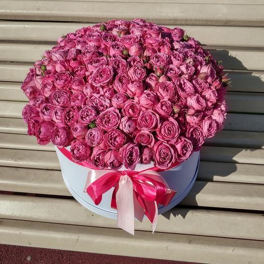 Шикарная шляпная с Пионовидной розой