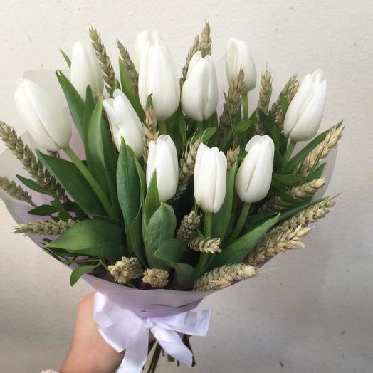Букет, 11 тюльпанов