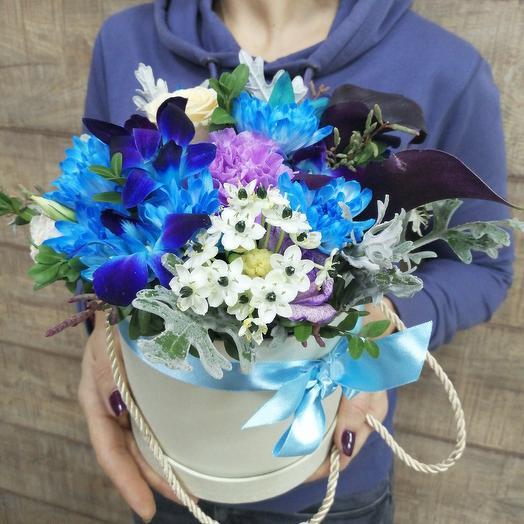 Необыкновенная коробка для необыкновенной девушки: букеты цветов на заказ Flowwow