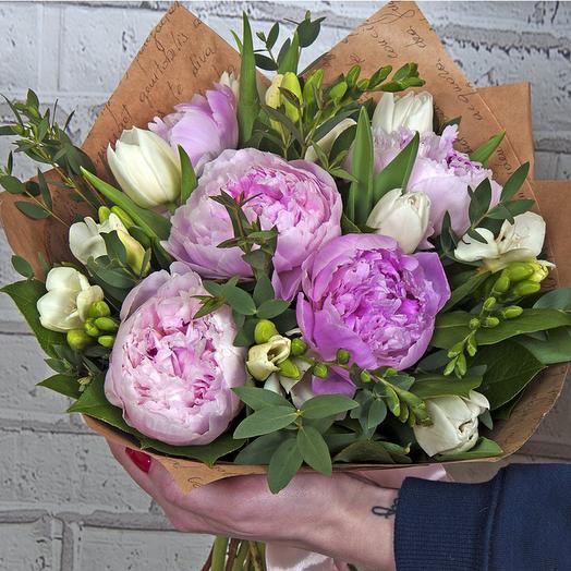"""Букет """"Ласковый май"""": букеты цветов на заказ Flowwow"""