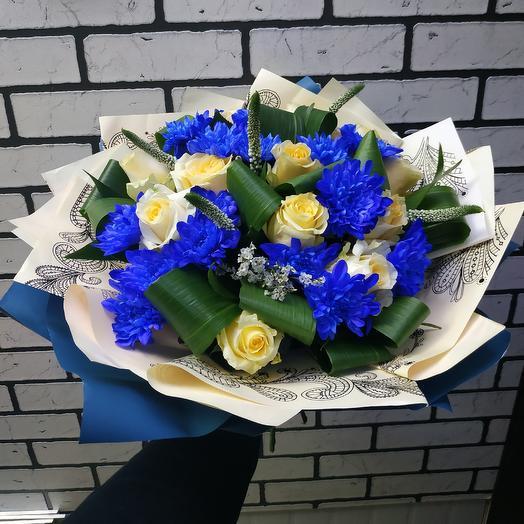 Букет9: букеты цветов на заказ Flowwow
