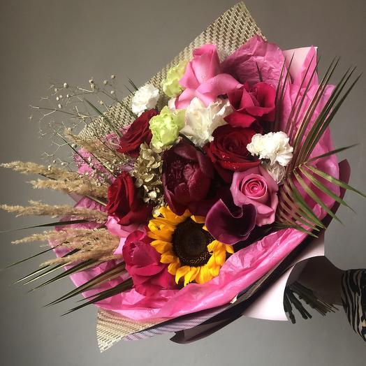 Кубинский колорит: букеты цветов на заказ Flowwow