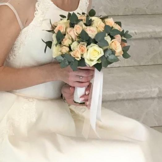 Свадебный букет1: букеты цветов на заказ Flowwow