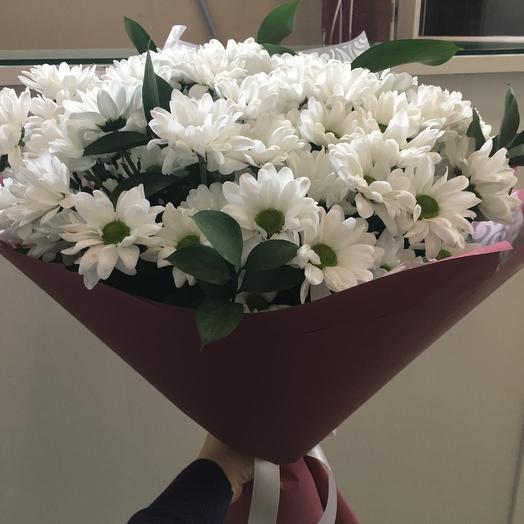 Хризантема белая: букеты цветов на заказ Flowwow