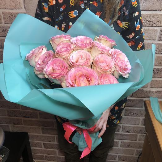 Букет Эквадор в Тиффани: букеты цветов на заказ Flowwow