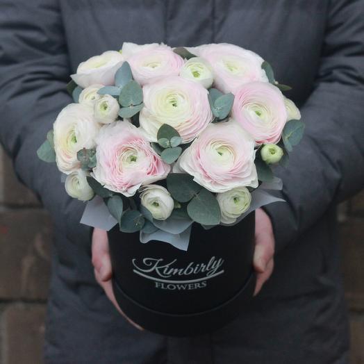 9 лютиков в коробке: букеты цветов на заказ Flowwow