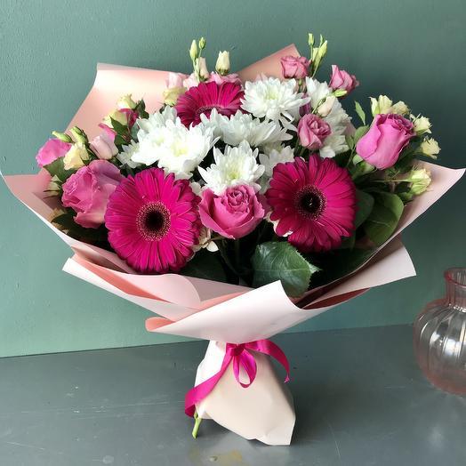 Букет хорошего настроения🌺: букеты цветов на заказ Flowwow