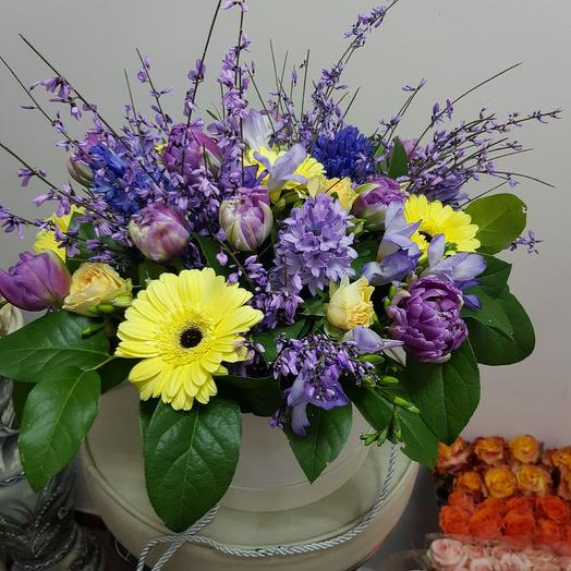 Композиция Весна: букеты цветов на заказ Flowwow