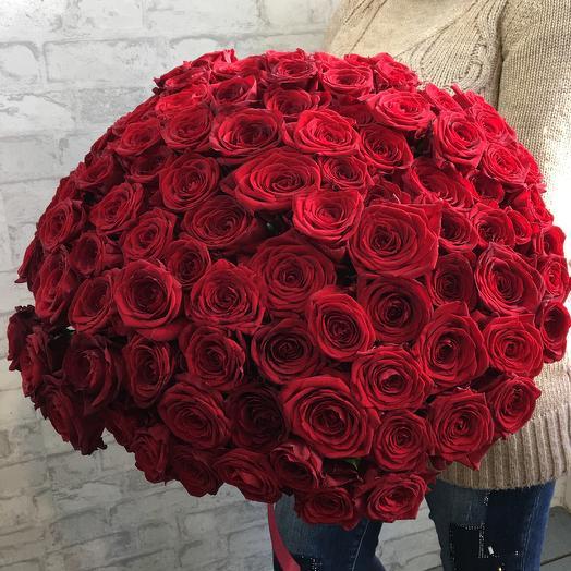 101 красная роза (чёрная магия)
