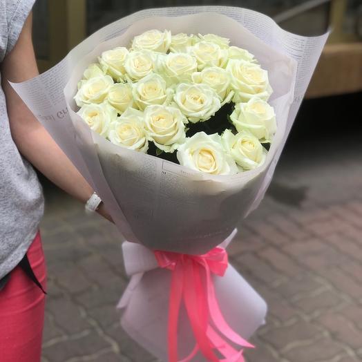 White rose 70cm