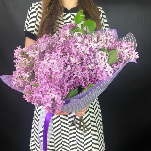 Средний букет сирени: букеты цветов на заказ Flowwow