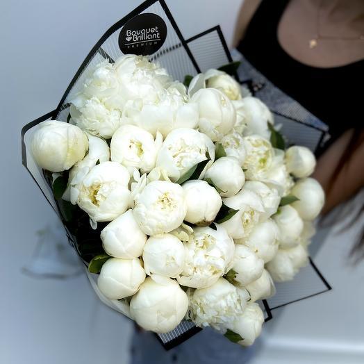 Белоснежный бал: букеты цветов на заказ Flowwow