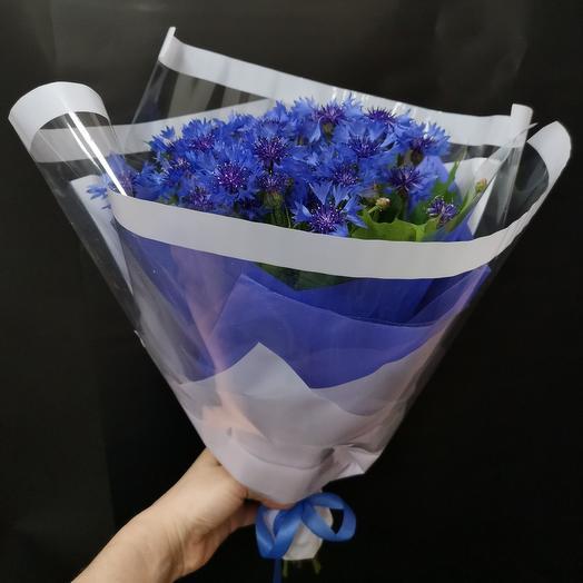 Мой Василек: букеты цветов на заказ Flowwow