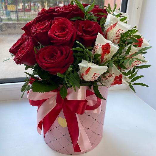 Цветы в коробке   Двойное счастье