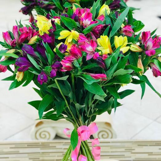 Альстромерия самые стойкие цветы в мире