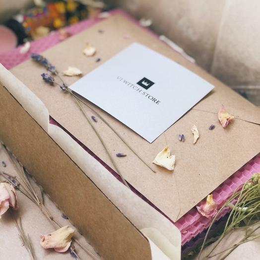 Подарочный набор для изготовления свечей из вощины