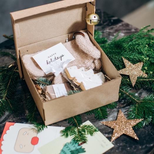 Подарочный набор с варежками