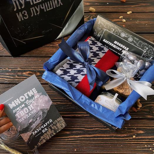 Подарок мужчине «С заботой о нем» / Мужской подарочный набор