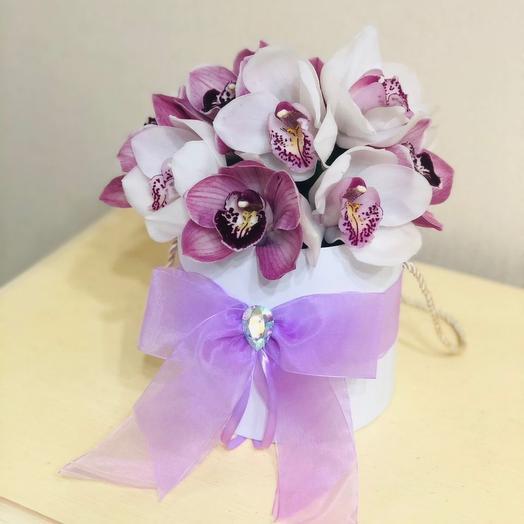 Орхидеи в коробке
