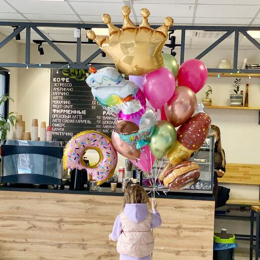 Фонтан-гигант «Пончики-мороженки»
