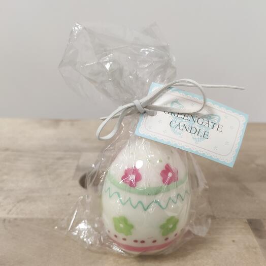 Пасхальная 🕯️ свеча яйцо