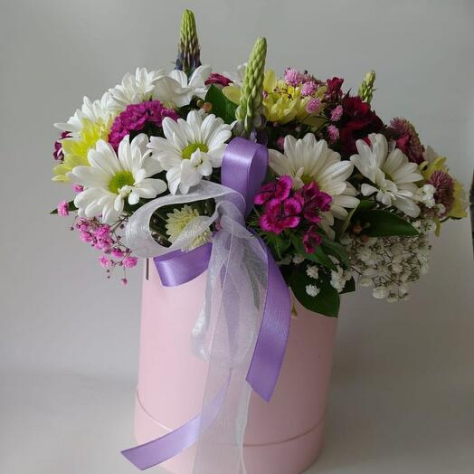 Цветы в коробке🌷