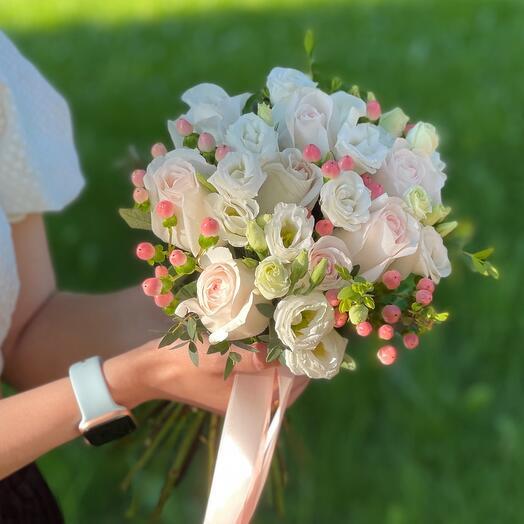 Свадебный букет «Прекрасная пара»