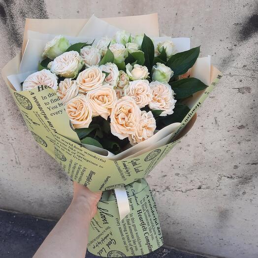 Пионовидные розы-роскошь