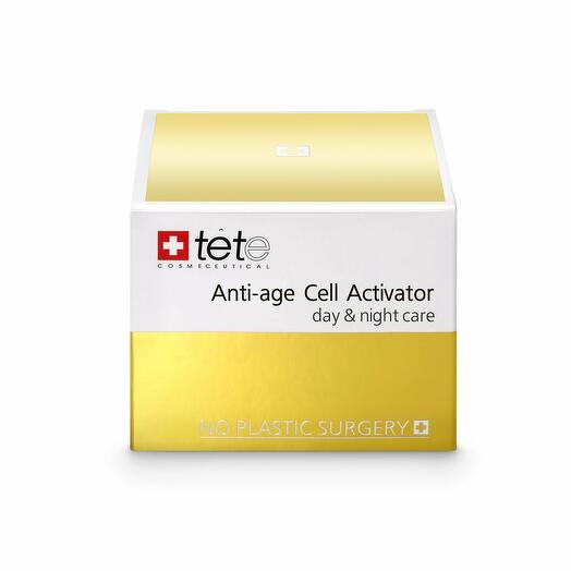 Омолаживающий крем для лица / TETe Anti-age Cell Activator (day and night), 50 ml