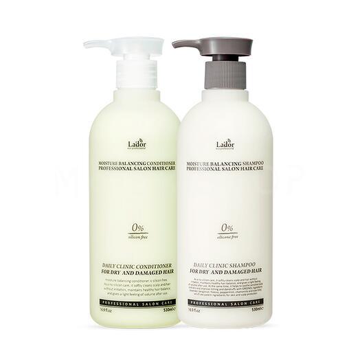 Сет для увлажнения волос  Lador Moisture Balancing Set Shampoo + Conditioner