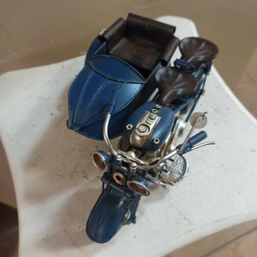 """Сувенир """"Мотоцикл с коляской"""""""