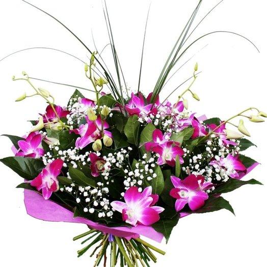 Букет из орхидей: букеты цветов на заказ Flowwow