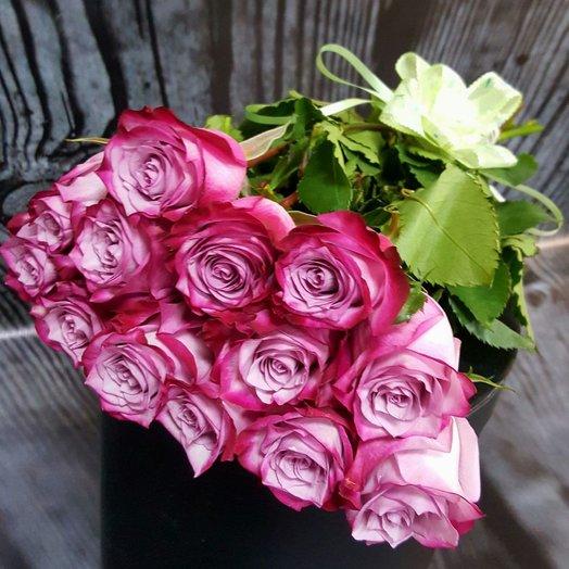 букет из сиреневых роз «Сиреневое безумие»