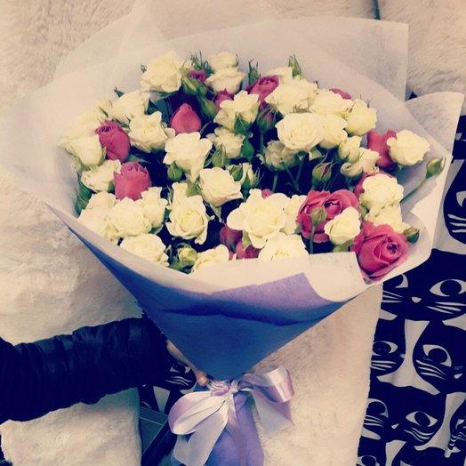 Букет из кустовые микс: букеты цветов на заказ Flowwow