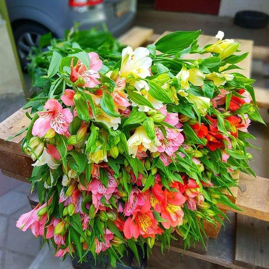 Букет из 35 микс цветов: букеты цветов на заказ Flowwow