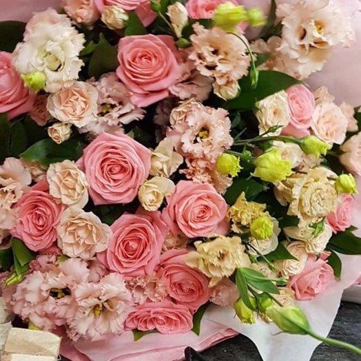 Pink C oud: букеты цветов на заказ Flowwow