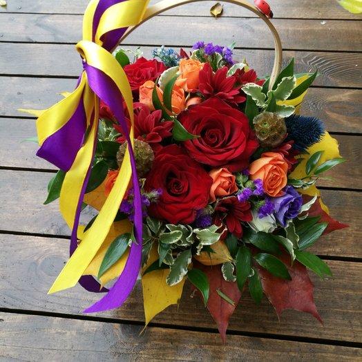 ОСЕННЯЯ СТРАСТЬ !: букеты цветов на заказ Flowwow