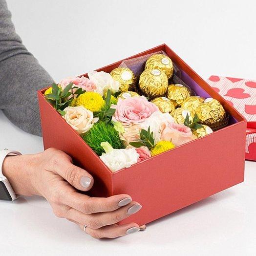 Композиция Ferrero: букеты цветов на заказ Flowwow