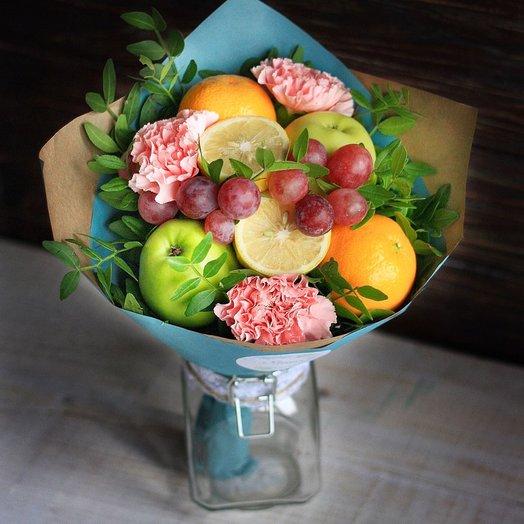 Фруктовый букет Свежесть: букеты цветов на заказ Flowwow