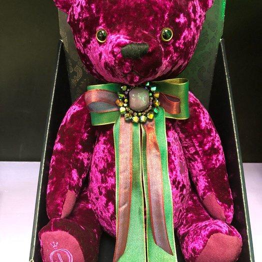 Медведь БернАрт: букеты цветов на заказ Flowwow
