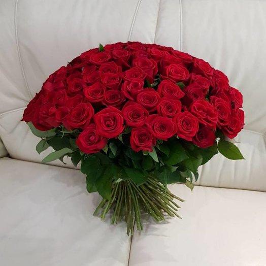 Мега букет роз