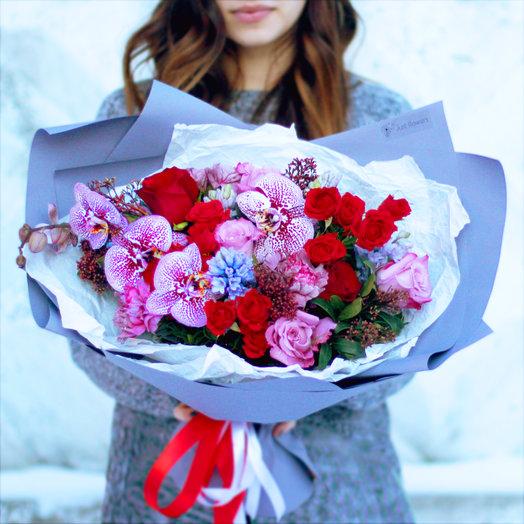 Букет 04: букеты цветов на заказ Flowwow