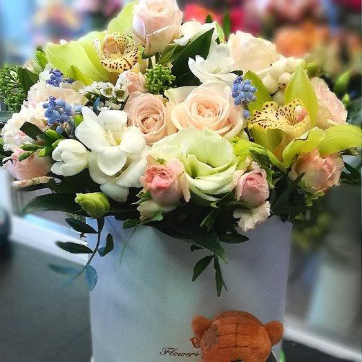 Персиковое суфле ): букеты цветов на заказ Flowwow