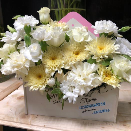 Пусть исполнятся заветные мечты!: букеты цветов на заказ Flowwow
