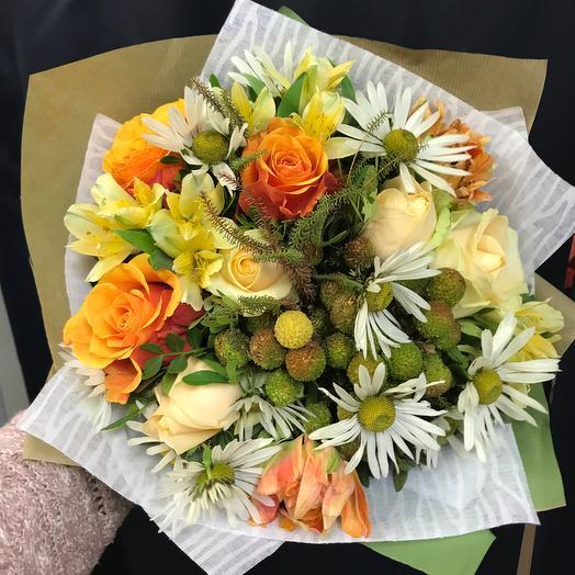 Майское солнце: букеты цветов на заказ Flowwow