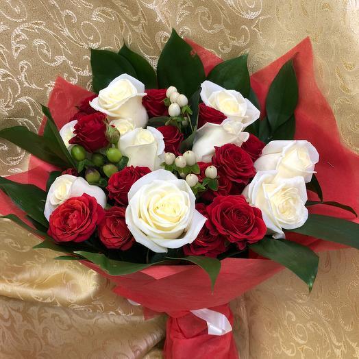 Букет «Любовь»: букеты цветов на заказ Flowwow
