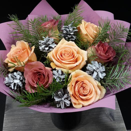 Зимний: букеты цветов на заказ Flowwow