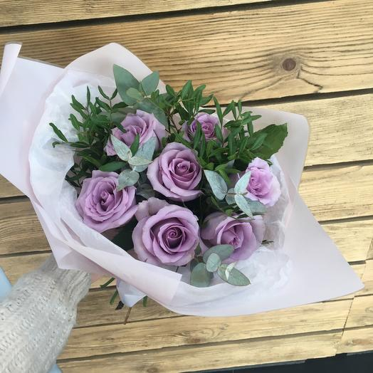 Букетик «Сиреневый»: букеты цветов на заказ Flowwow