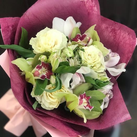 Букет Летние мечты: букеты цветов на заказ Flowwow