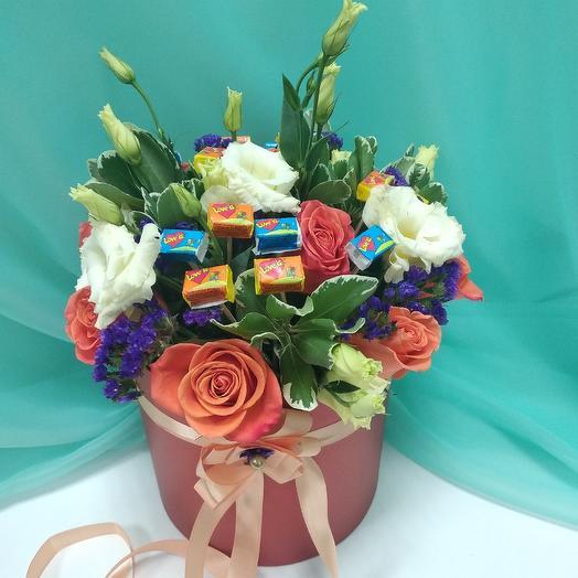 Love is: букеты цветов на заказ Flowwow